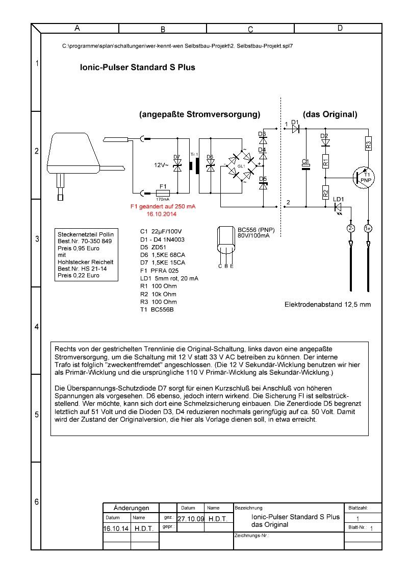 Wunderbar Auto 12v Führte Schaltplan Galerie - Der Schaltplan ...